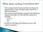 lookup transformation 2