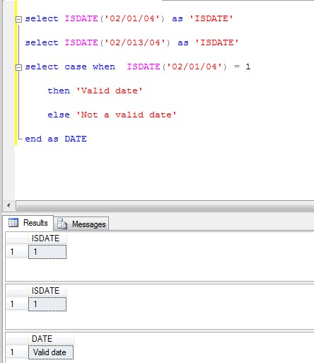 T sql date functions