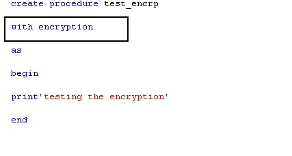 Decrypting encrypted stored procedures, views, functions in