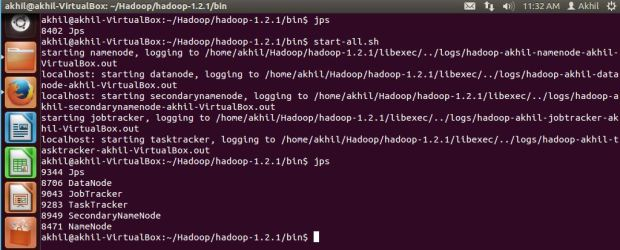 hadoop start 5 all